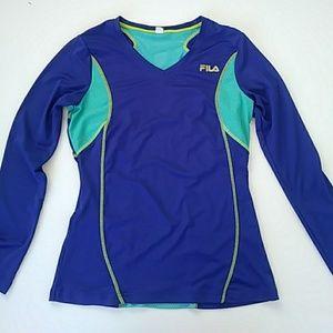 Fila Performance Long Sleeves Athletic Shirt